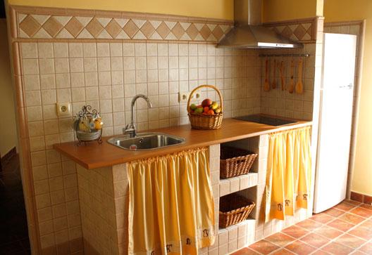 Casa rural luna for Cocinas rurales